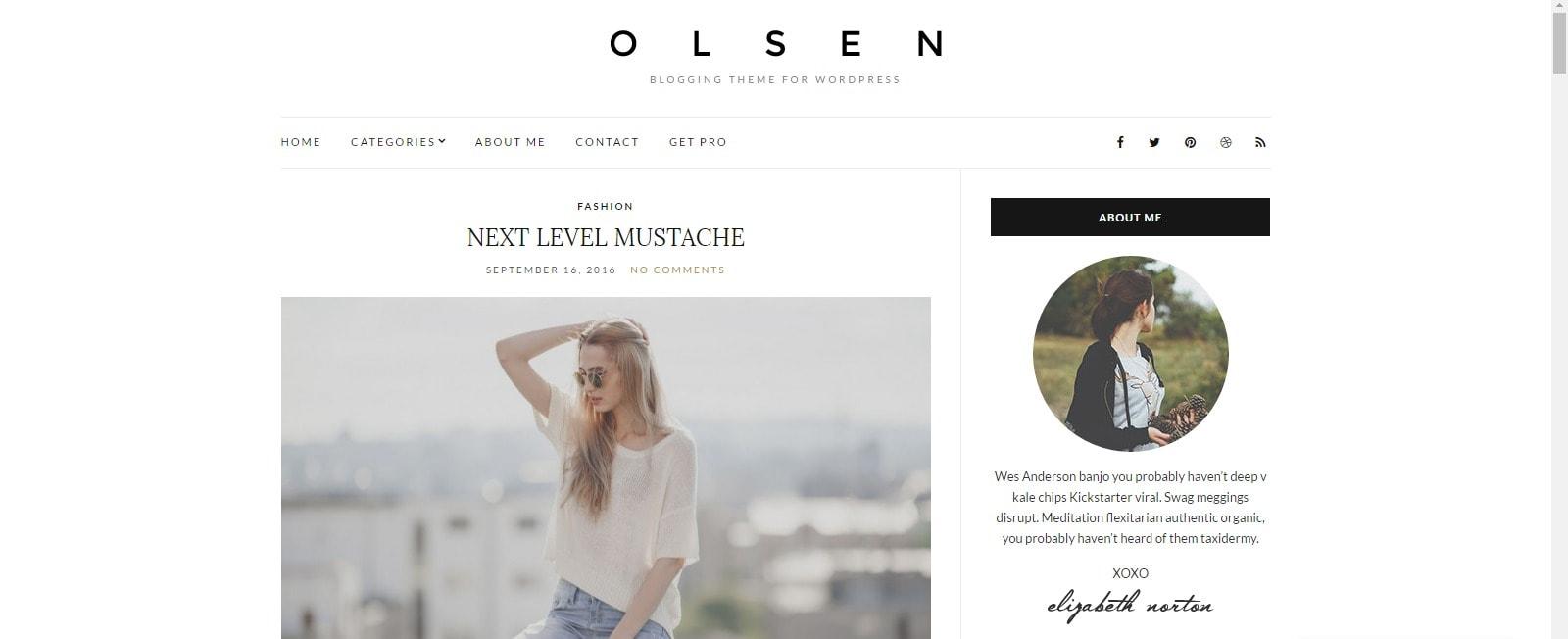 8 fashion tema za tvoj blog Olsen Light 1