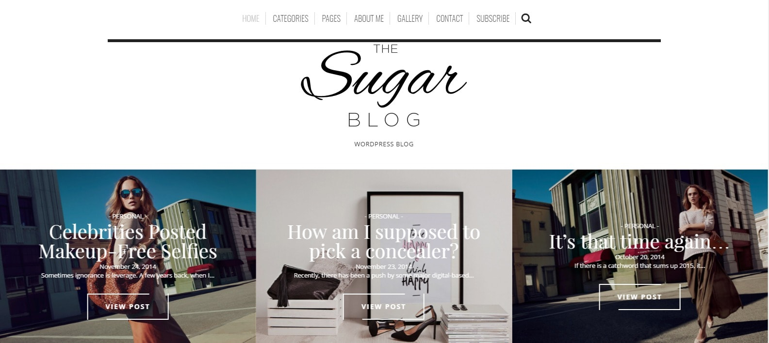 8 fashion tema za tvoj blog Sugar blog