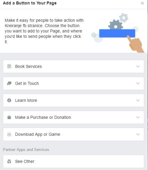 CTA dugmici- Kreiranje Facebook stranice-min