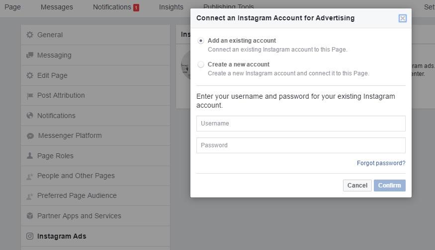Dodavanje Instagrama na Facebook stranicu Ženski Poslovni Kutak