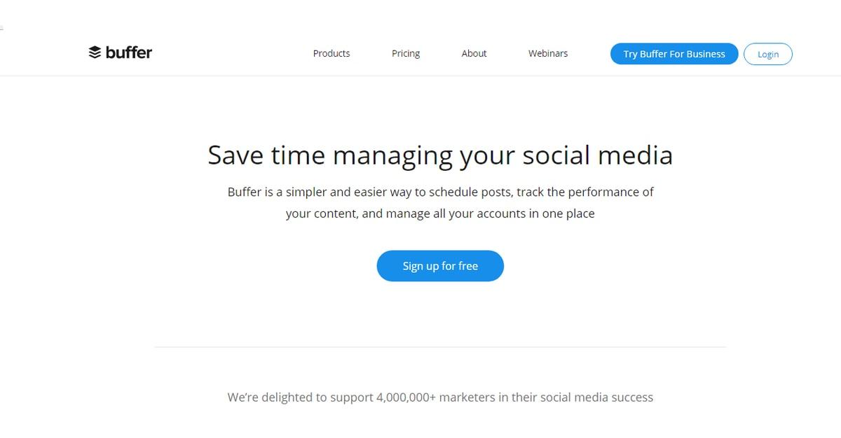 7 alata za efikasnije vođenje društvenih mreža-ženski poslovni kutak buffer