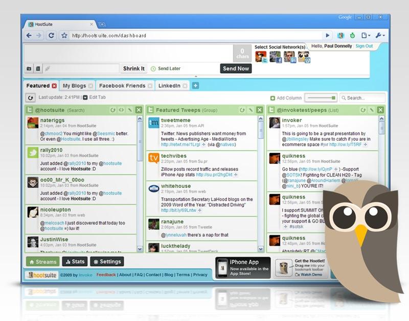 7 alata za upravljanje društvenim mrežama-hootsuite-ženski poslovni kutak